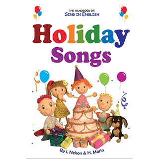 Holiday Songs Volume 1 Downloadable Album-Book Set