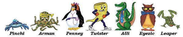 Kidini Characters